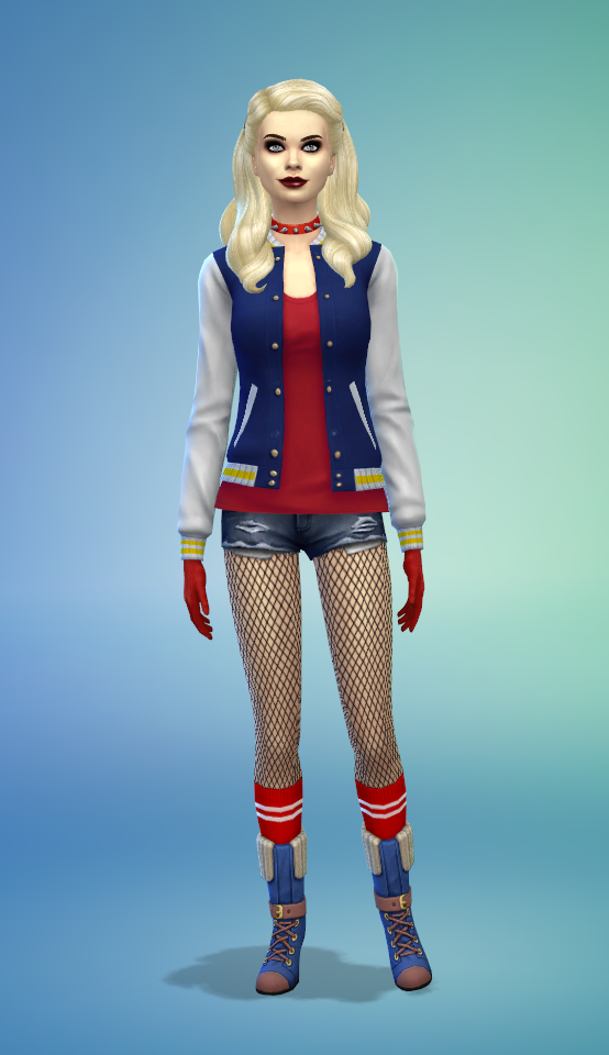harley quinn and enchantress no cc used sims harley quinn