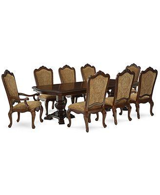 Lakewood 9 Piece Dining Room Furniture