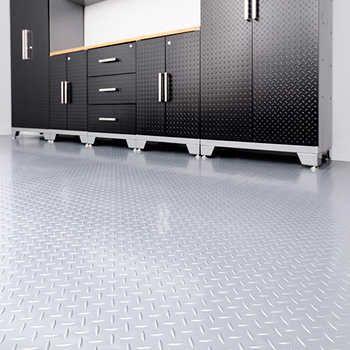 Newage 8 X 20 Versaroll Garage Flooring Garage Floor Pvc Flooring Flooring