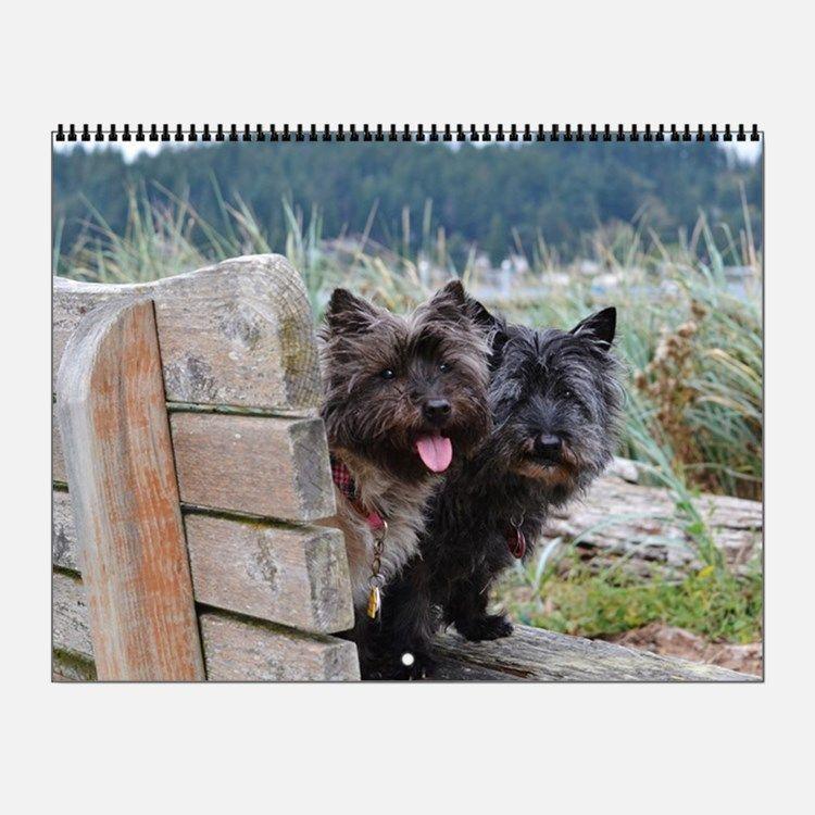 Cairn Terrier Wall Calendar Cairn Terrier Cairn Terrier Mutt