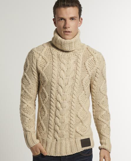 Men's Roll Neck Jumpers Get onboard with everyone's favourite piece of retro knitwear and make sure you're ready for the colder months by picking up a classic roll neck jumper. We've got a great variety of men's roll neck jumpers that will have you turning heads this winter when teamed with some skinny fit trousers and a smart pair of brogues.