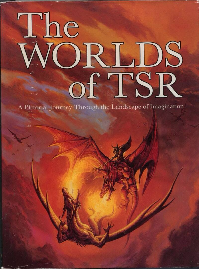 The Worlds of TSR cover