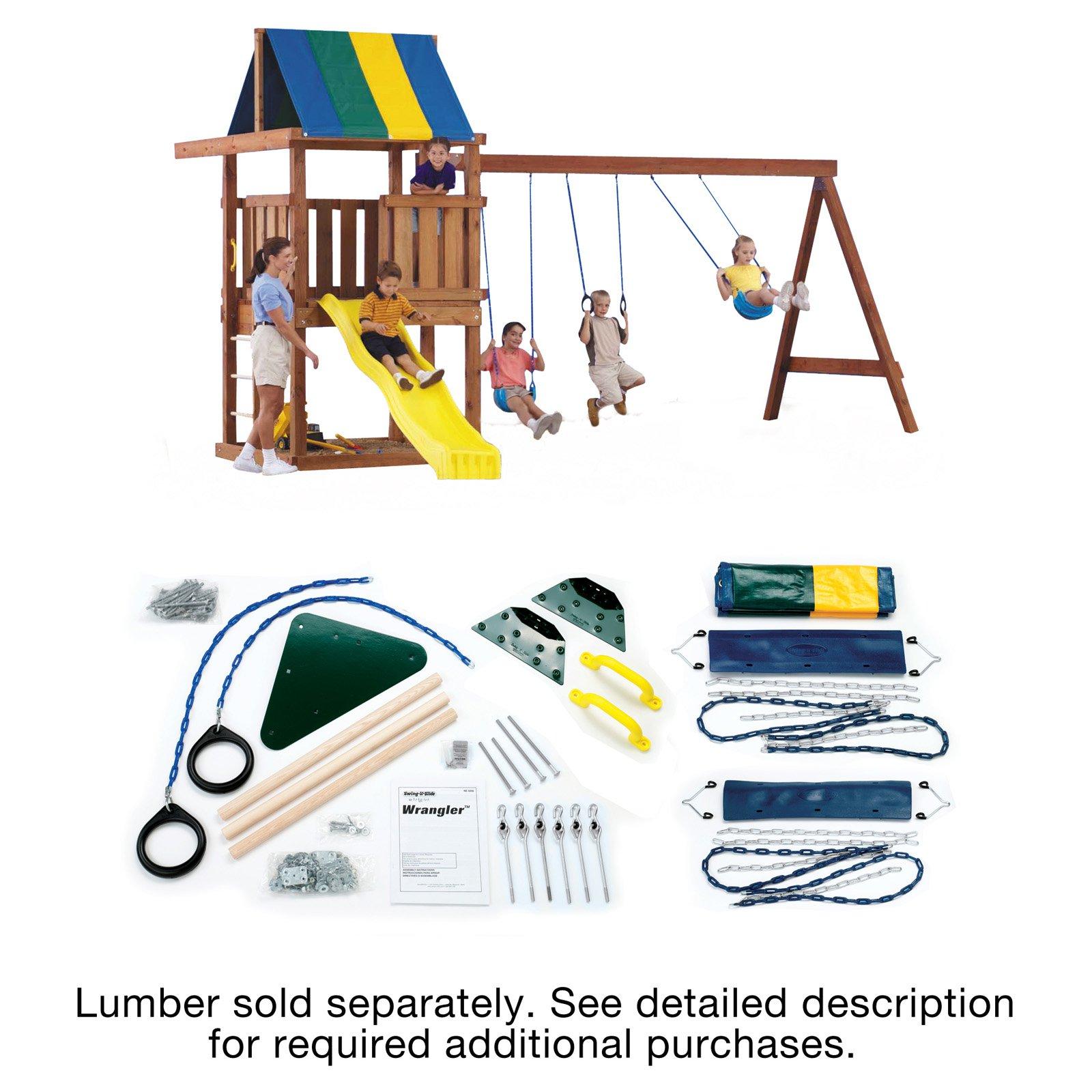 Swing N Slide Ne 5056 Wrangler Diy Play Set Hardware Kit