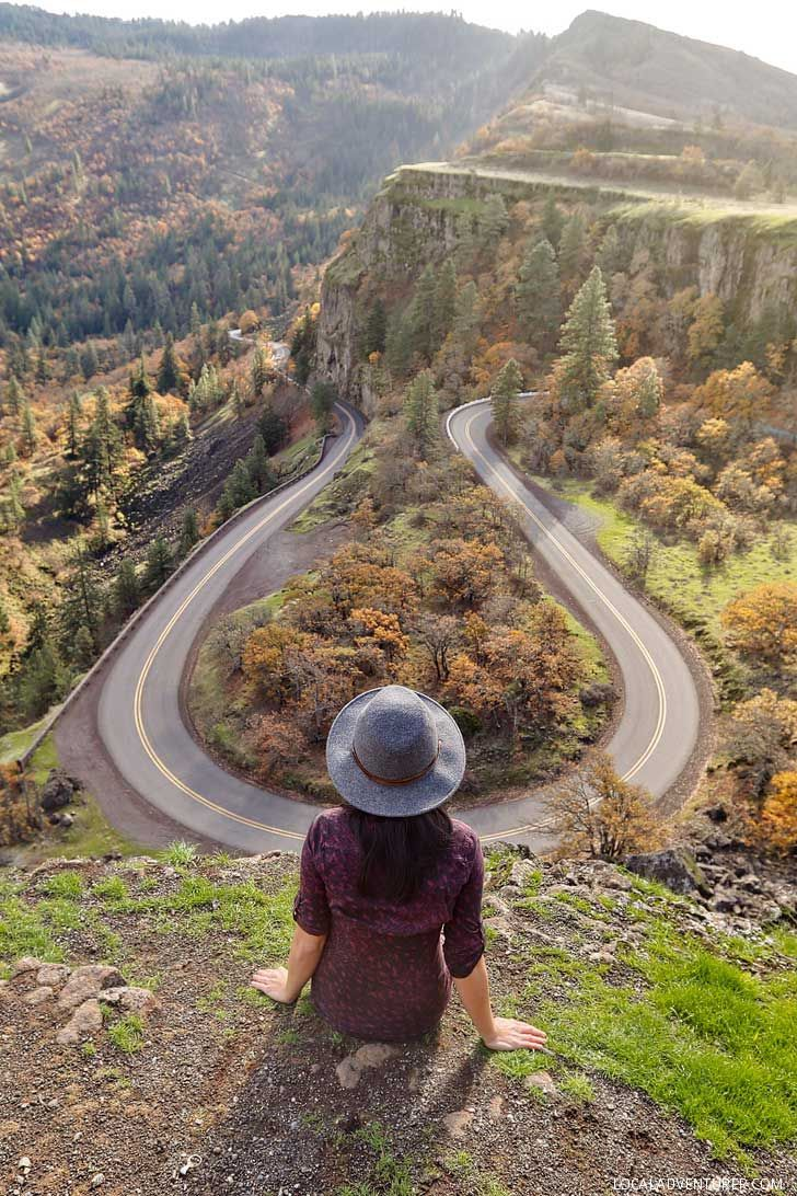 Rowena Crest Viewpoint Oregon Guide to