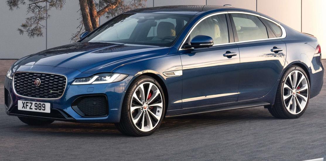 2021 New Model Of Jaguar Xf Upgraded With Tweaked Styling Jaguar Xf Jaguar New Jaguar