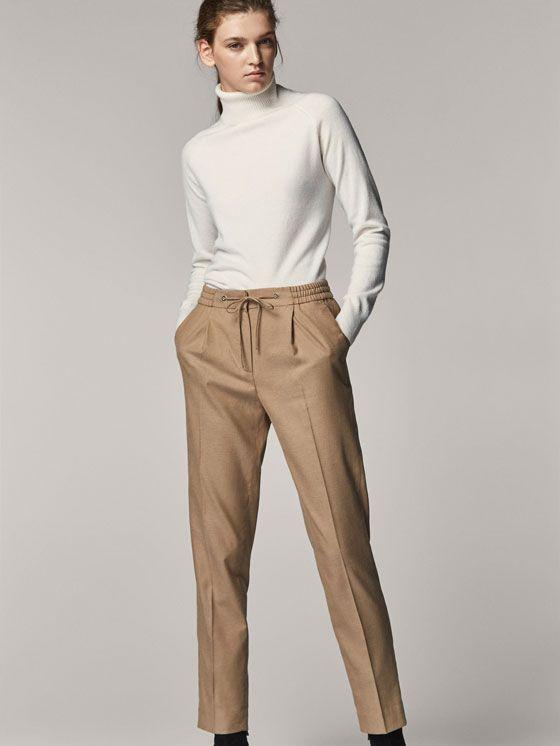 más de moda gama exclusiva ahorrar Pantalones de mujer | Massimo Dutti Colección Otoño Invierno ...