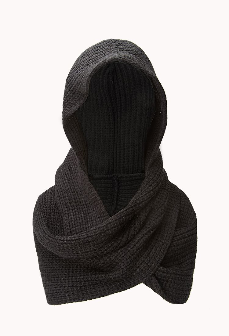 c2e600fcb17ad Fireside Hooded Scarf | FOREVER21 -Keepin' it hood #InfinityScarf #Hood # Knit *I love this, hint hint*