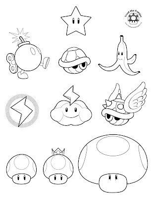 Mario Kart Wii Coloring Pages Mario Bros Para Colorear Tatuaje De Mario Dibujos De Mario