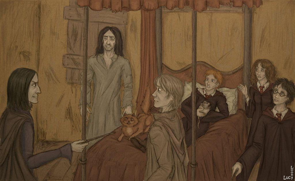 In The Shrieking Shack Harry James Potter Harry Potter Fantastic Beasts Hogwarts