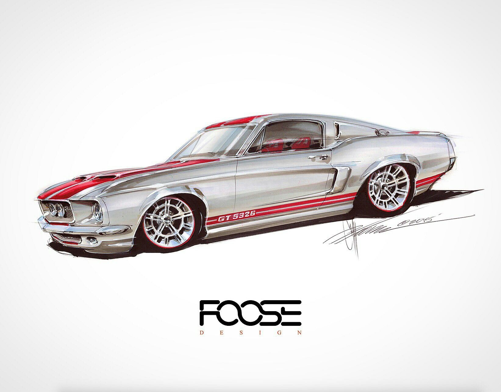 Pin by josh on vehicle pics Chip foose, Car drawings