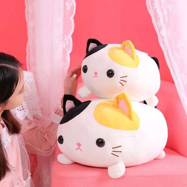 Kawaii Cat Plush Toy in 2020 Cat plush toy, Plush toy