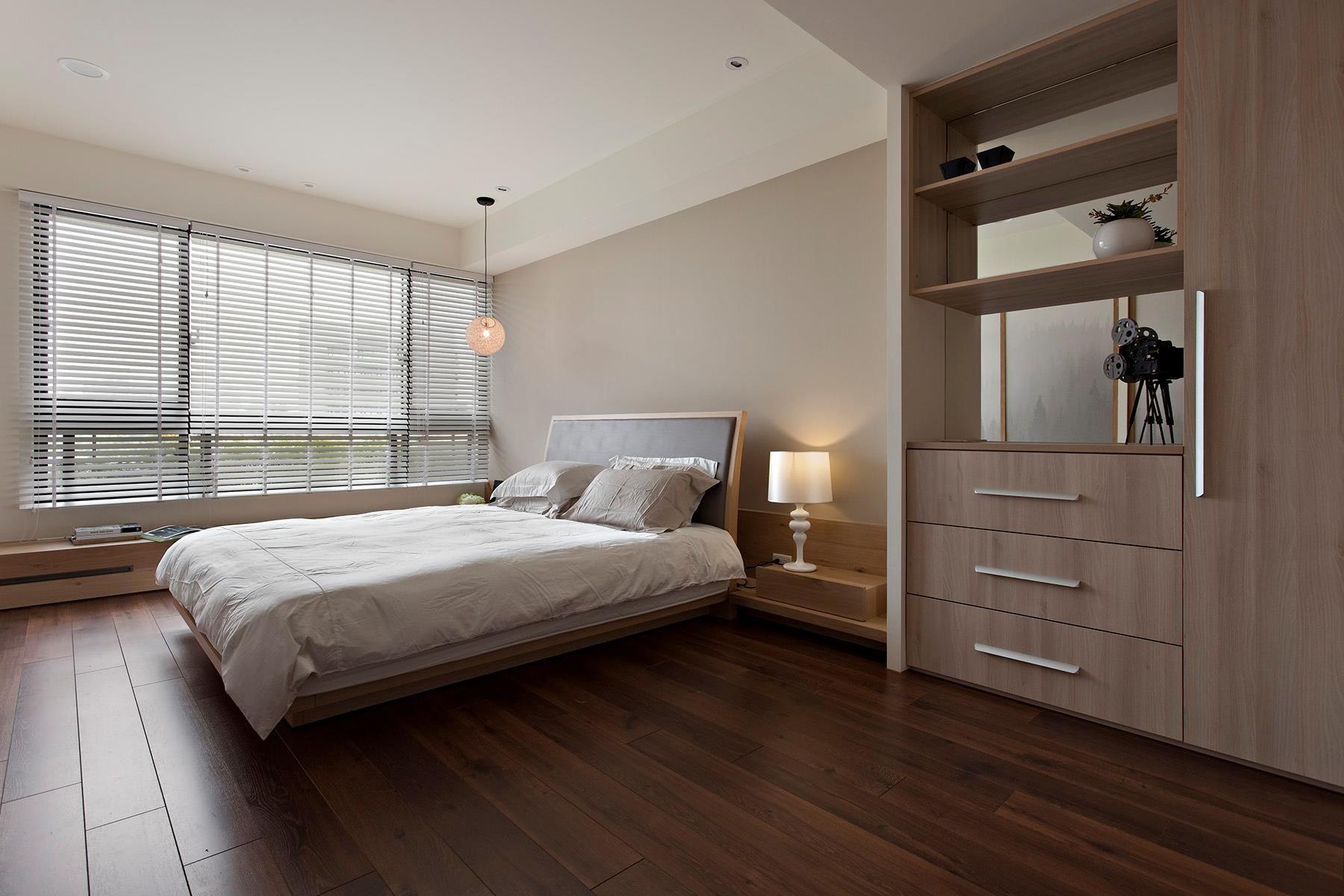 apartment-master-bedroom-with-brown-interior-decoration-ideas-plus