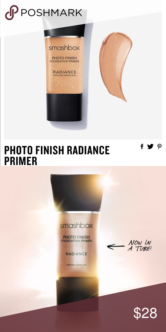 Flash Sale Smashbox Photo Finish Radiance Primer Face Primer
