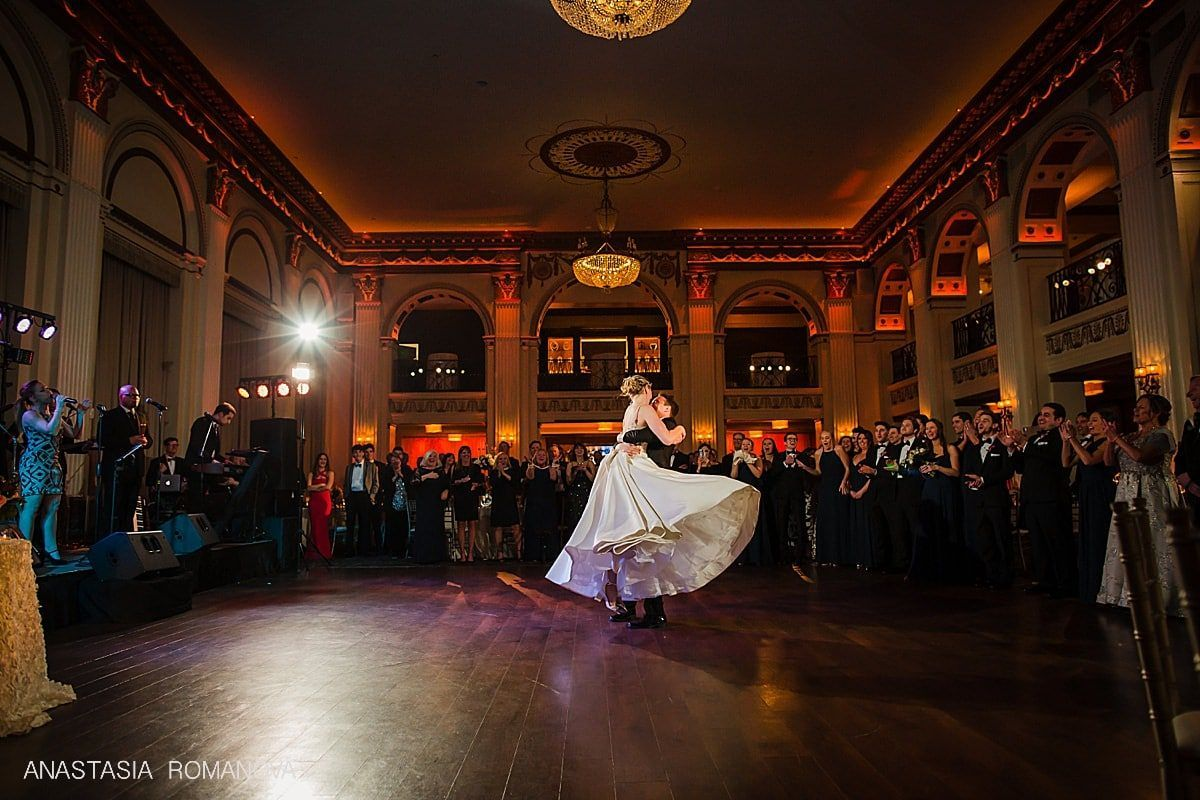 Ballroom At The Ben Philadelphia Elegant Wedding In 2020 Ballroom Wedding Elegant Wedding