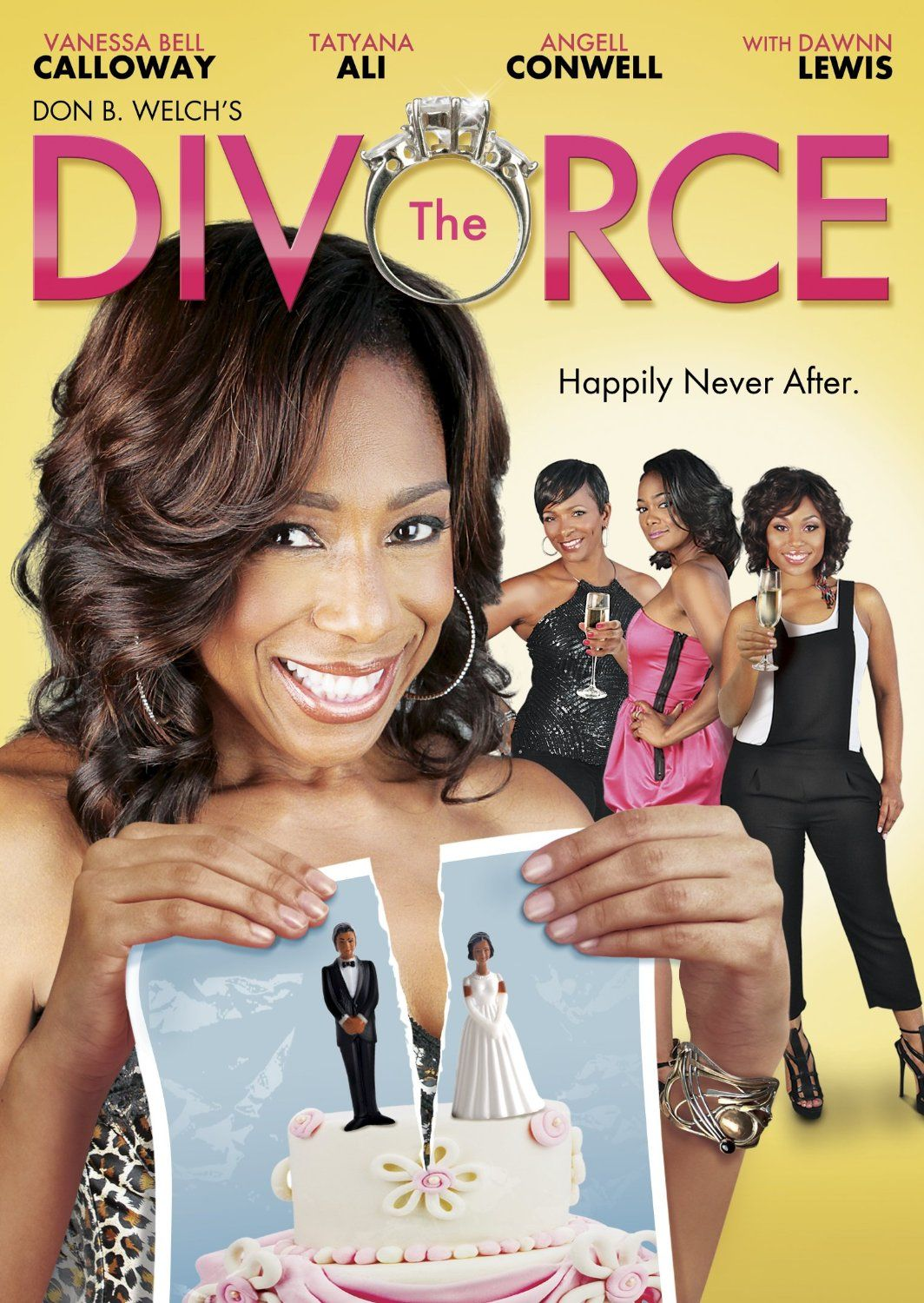 Interracial divorce party one the