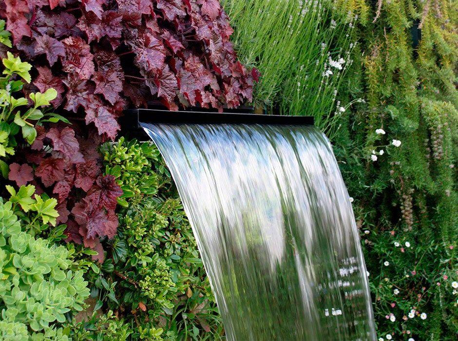Fuente de cascada para jardín Fuentes para jardin Pinterest - fuentes de cascada