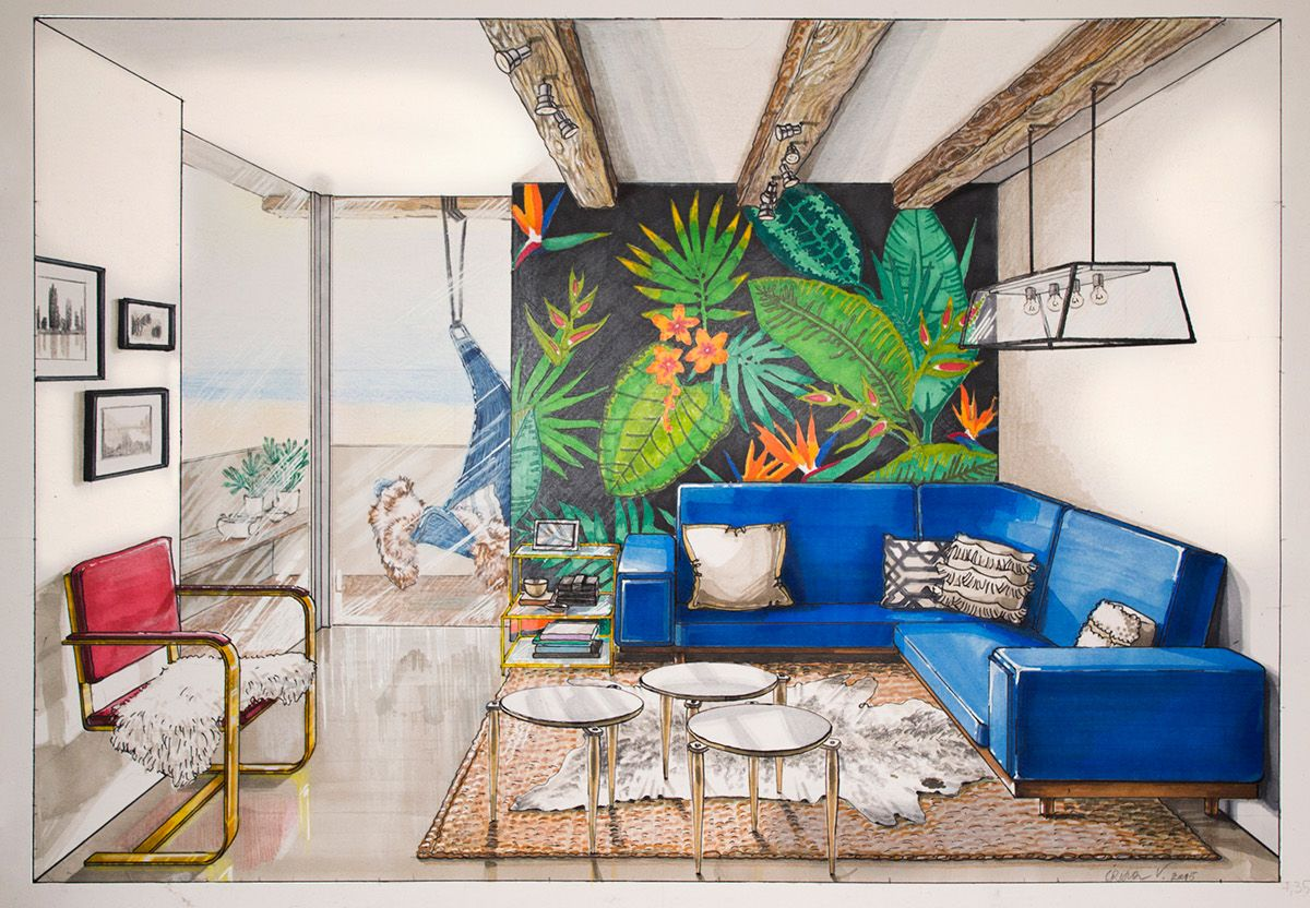 architecture interior design - Draw Interior Design