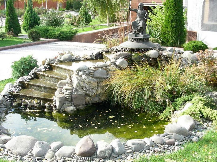 High Quality Outdoor Ponds With Waterfalls,waterfall For Small Garden Pond