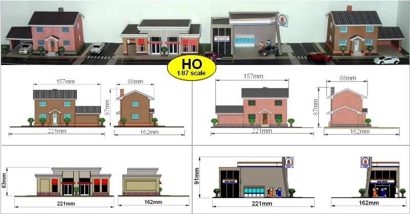 Pics Photos Scale Buildings Free Downloads This Is Your Index Html Ho Scale Buildings Paper Train Free Paper Models