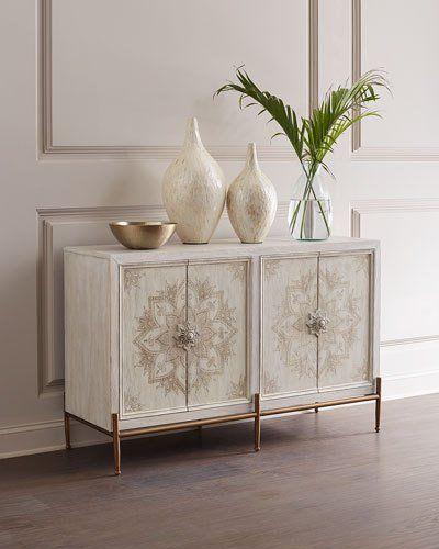 HCKG0 Hooker Furniture Delilah Hand-Painted Accent Chest
