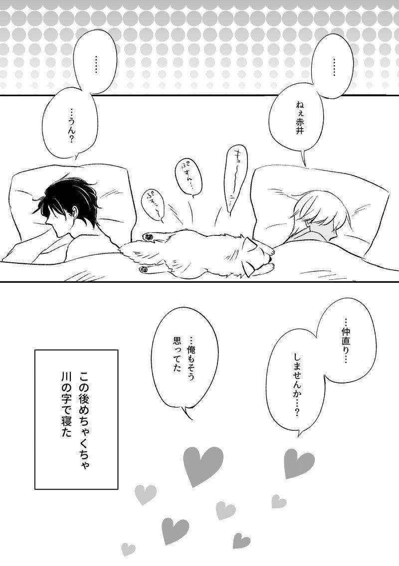 りんご ring gong01 さんの漫画 139作目 ツイコミ 仮 赤井秀一 安室透 漫画 マンガ