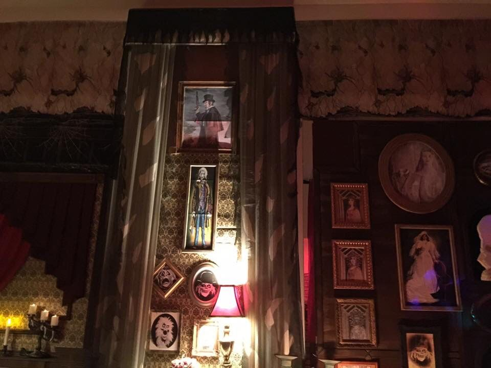 My Own Props Halloween 2016 Haunted Mansion  Formal Dining Room Simple Haunted Mansion Dining Room Decorating Inspiration