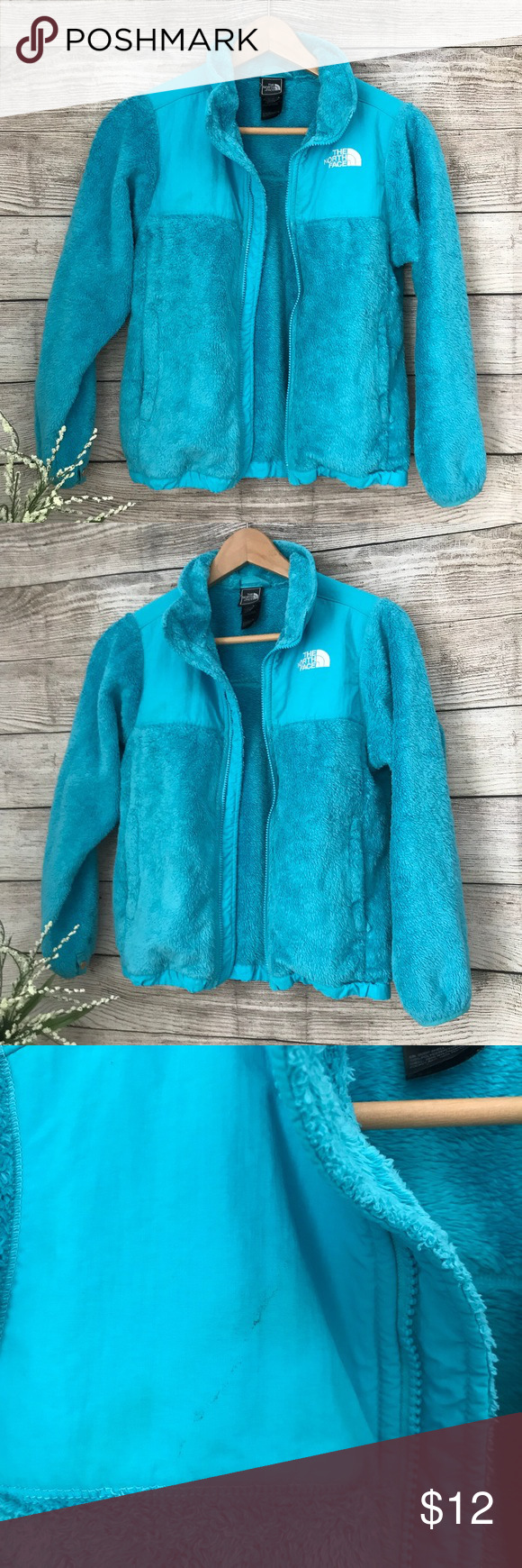 5 The North Face Girls Blue Fleece Jacket North Face Girls Fleece Jacket Jackets [ 1740 x 580 Pixel ]