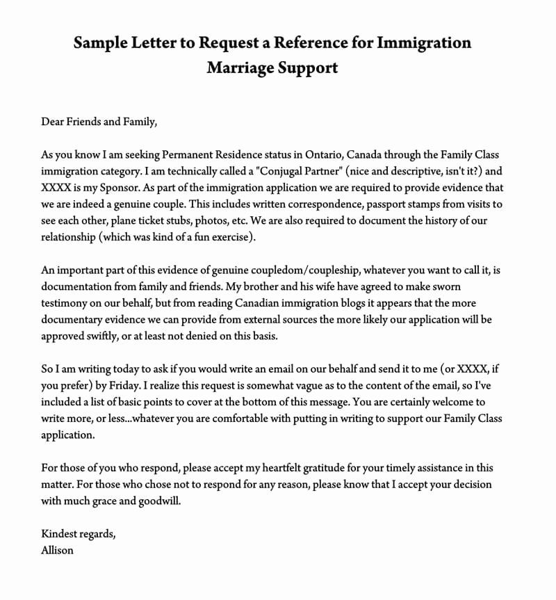 Sample Of Supporting Letter from i.pinimg.com