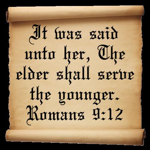 Short Bible Verses Romans 9:12