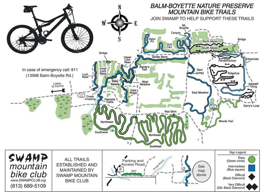 Trail Running Balm Boyette Scrub Preserve Mountain Biking The Balm Bike Trails