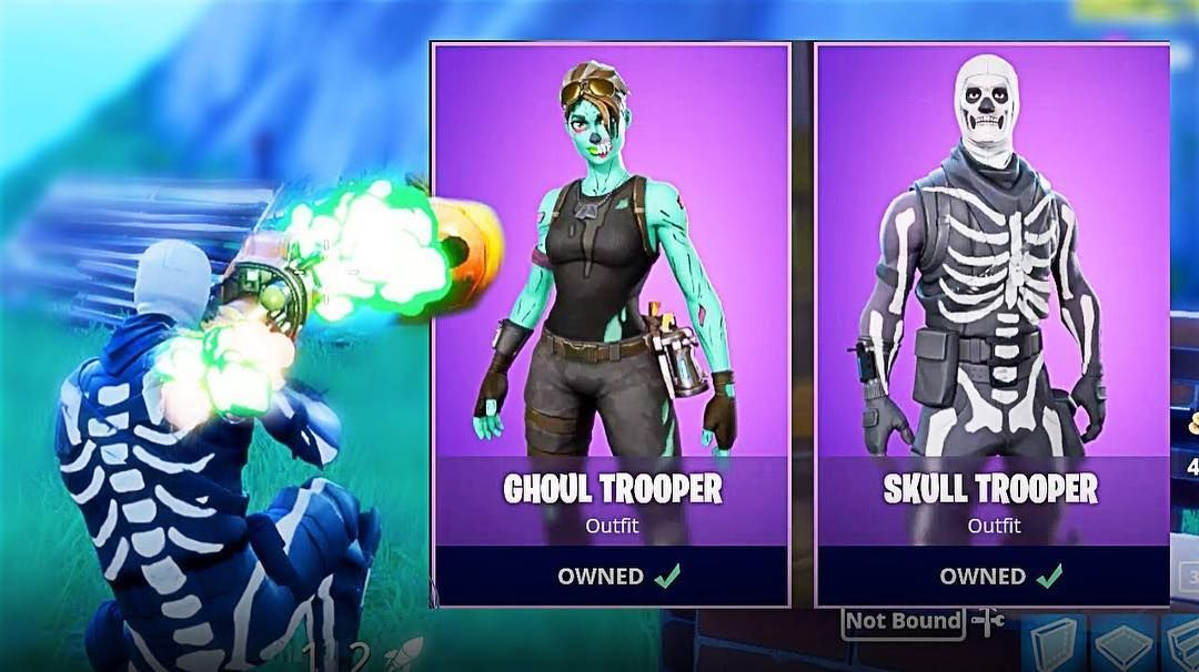 Which Skin Is Better Ghoul Trooper Or Skull Trooper Fortnite
