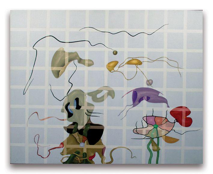 2000- Fantasma, acrilici su tela, cm 80x100