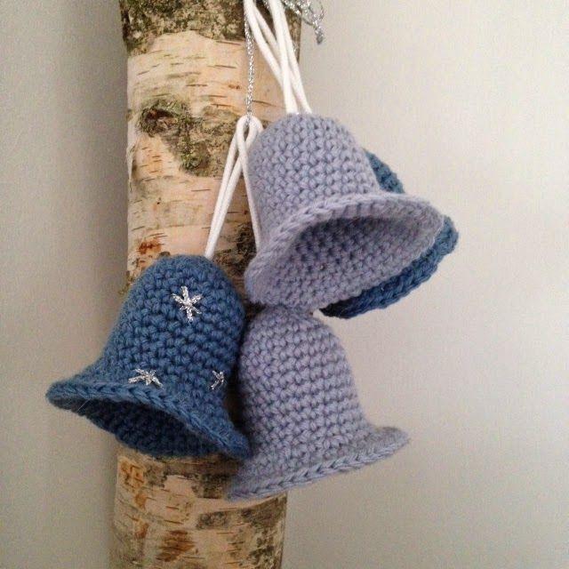 Kerstklokken Haken Happy Handmade Living Hekl Crochet
