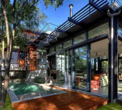 Terrasse piscine moderne 99 idées aménagement et déco House - photo d amenagement piscine
