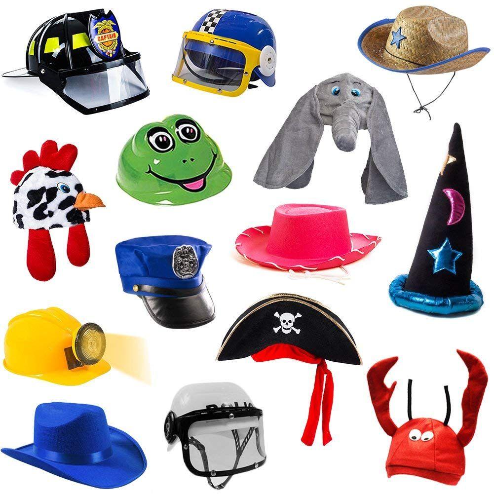 Tigerdoe Dress Up Hats for Kids - Kids Dress Up - Costume Hats