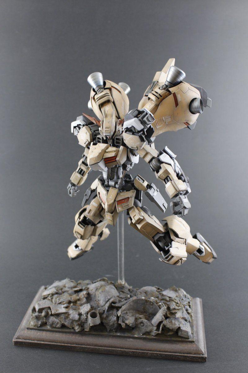 Custom Build 1/100 Gundam Gusion Rebake + Weathering