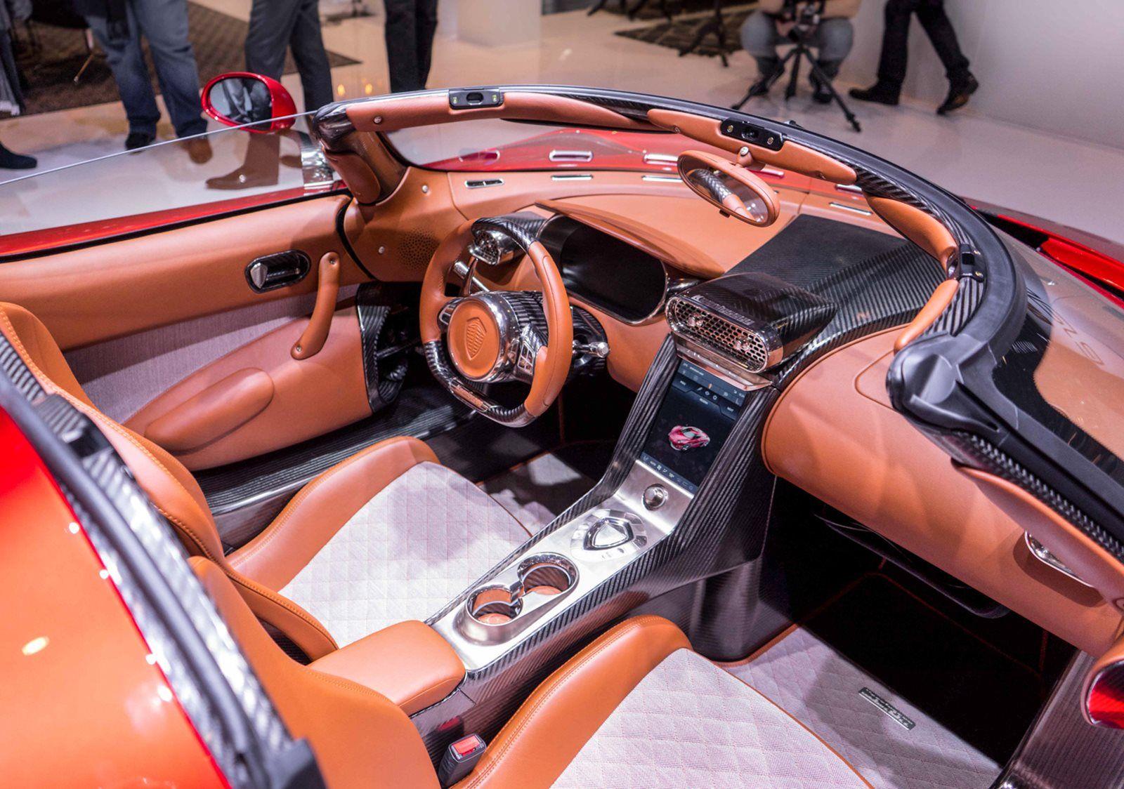 2016 Koenigsegg Regera Dashboard