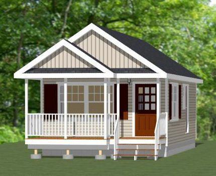 16x30 1 Bedroom House - 480 sq ft - PDF Floor Plan LEXINGTON ...