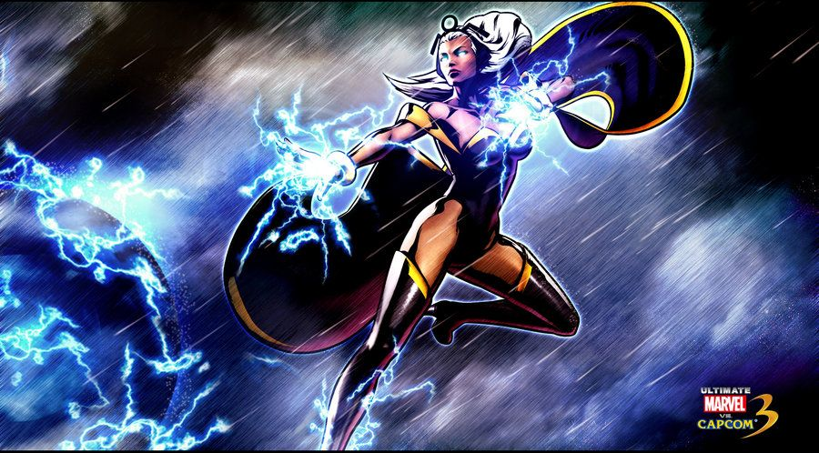 Ultimate Marvel Vs Capcom 3 Storm Wallpaper By Kaboxx Umvc3