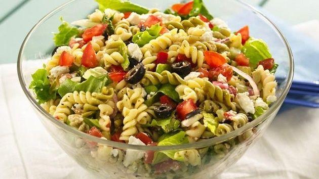 Salada De Macarrao Prepare Esta Deliciosa Receitaingredientes
