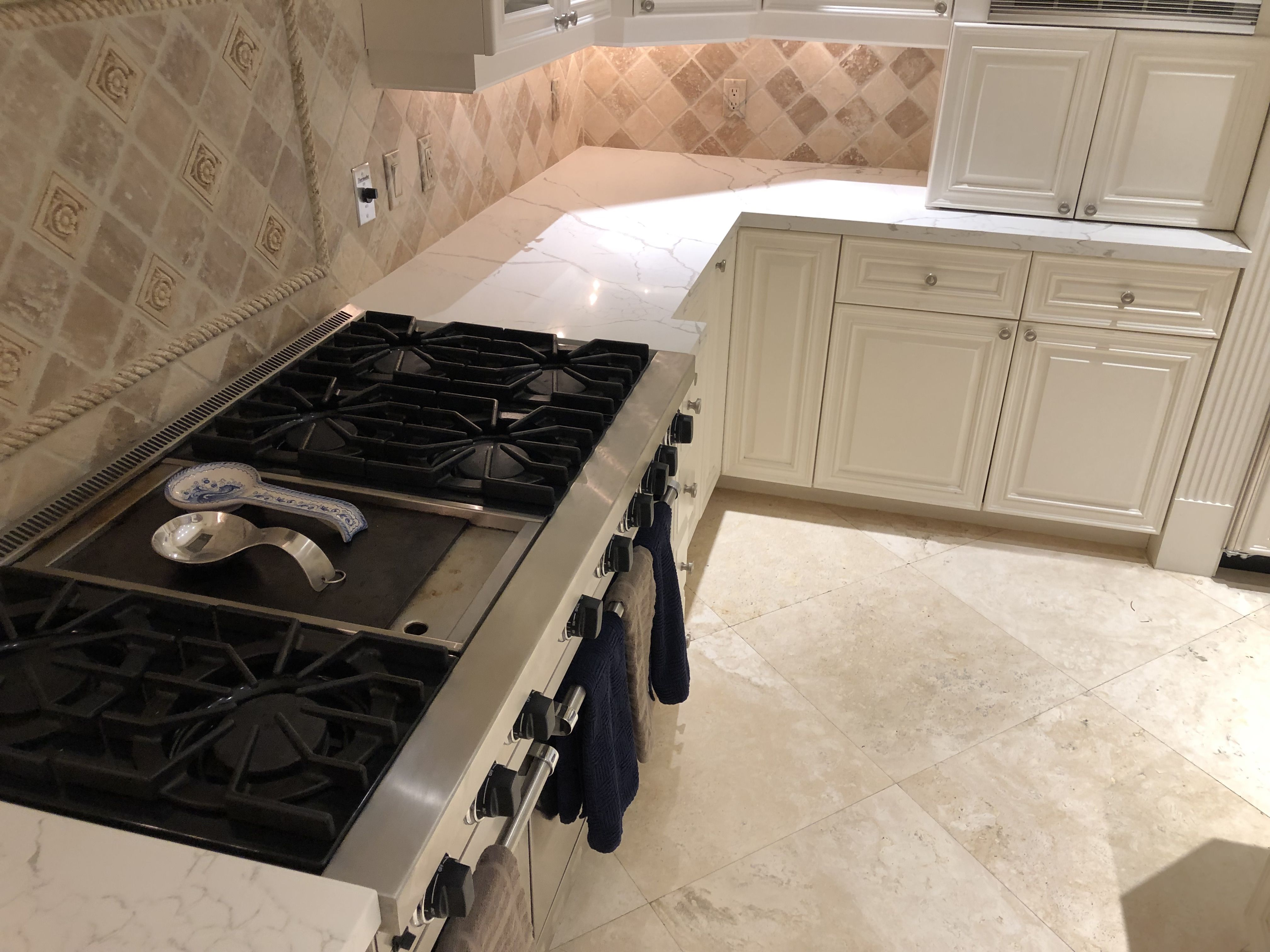 If You Like To Know How Calacatta Laza Countertops Loos Installed