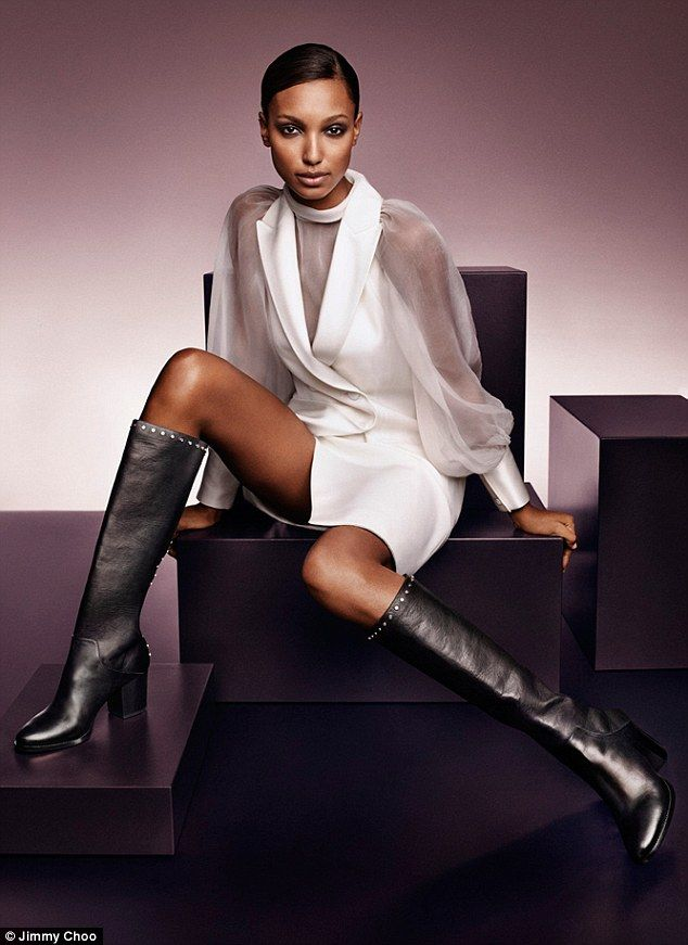 c813a3f7706 Supermodels old and new join forces for Jimmy Choo campaign