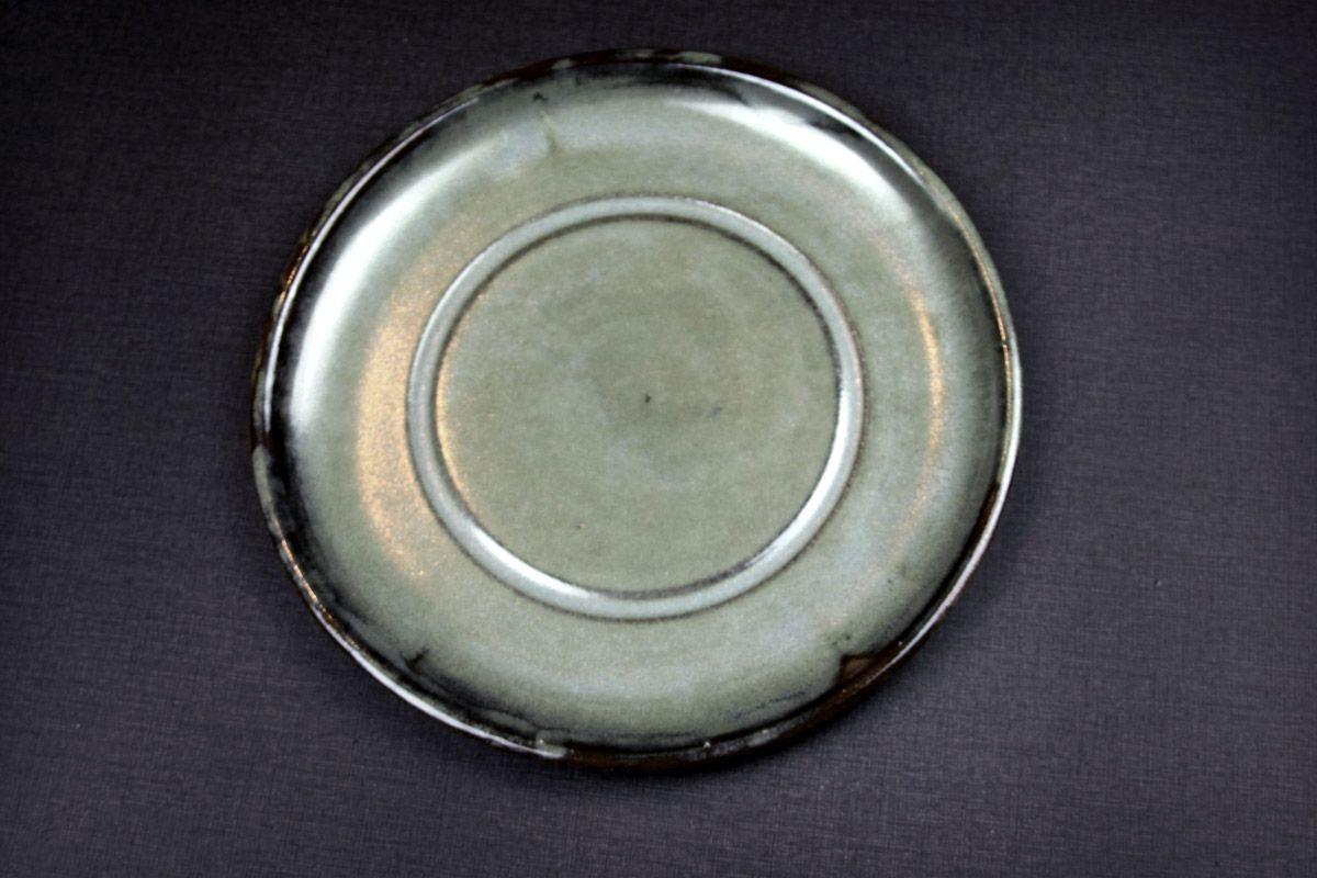 Plat test glaze by Tristan Philippe