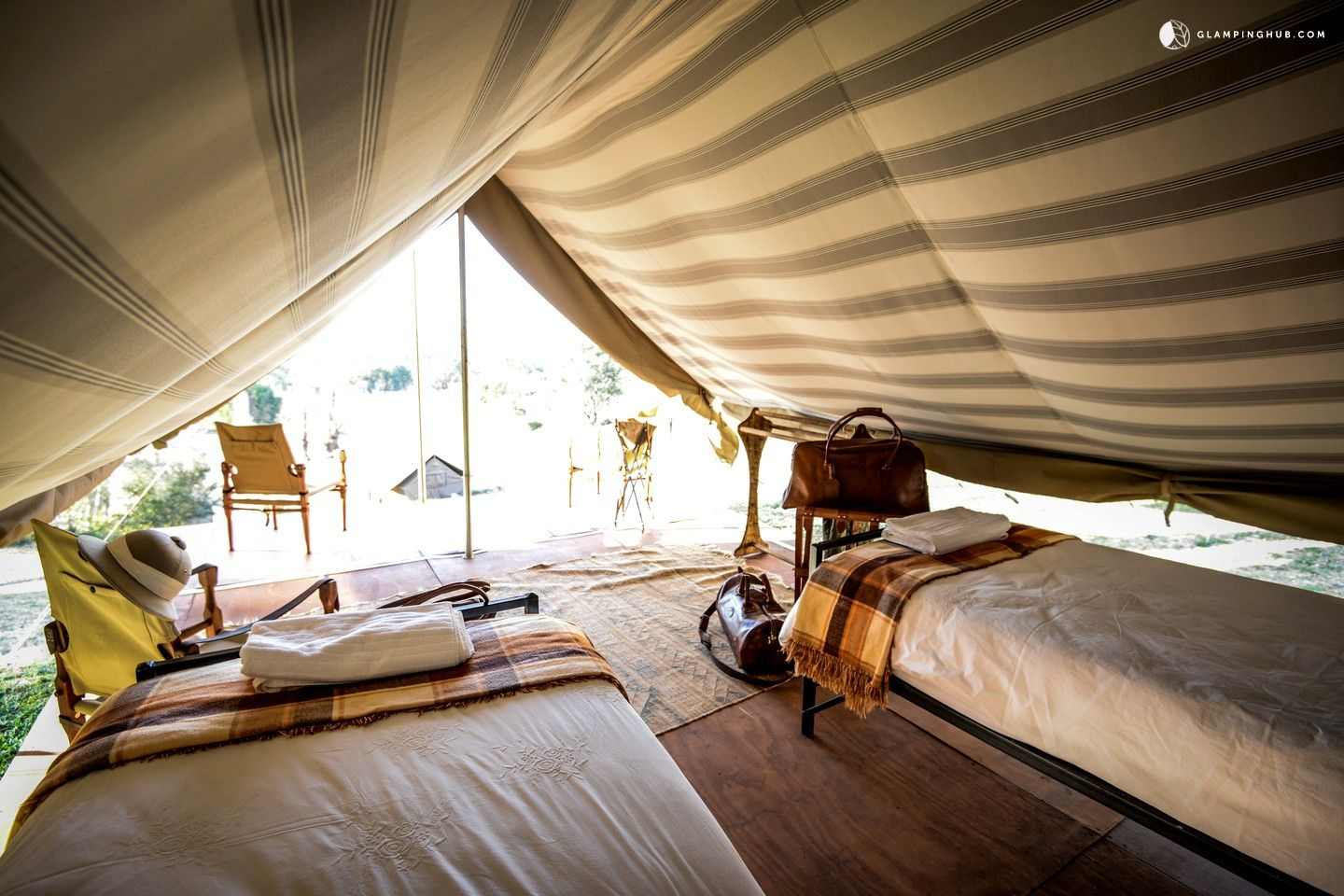 Glamping Tent Rentals For Groups Near Golden Gate