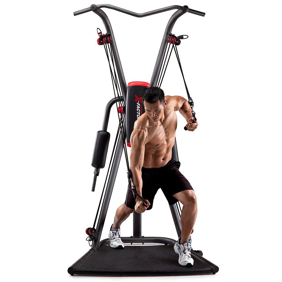Weider factor plus home gym fold away vertical knee