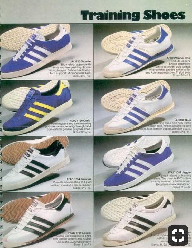 adidas vintage chaussure