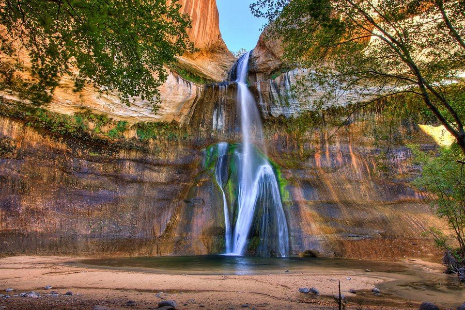 Oasis in the Desert By Larry Zimmer Photography  #oasisinthedesert   #waterfallthursday