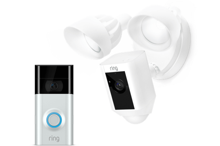 The Welcome Kit For Video Doorbell 2 Chime Pro Ring Security Motion Activated Camera Starter Kit