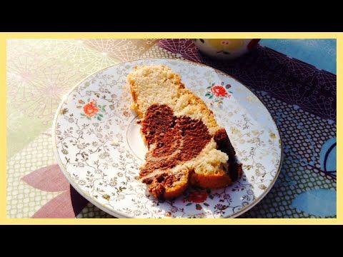Gâteau marbré préparé avec Meg » Zest of Cherry