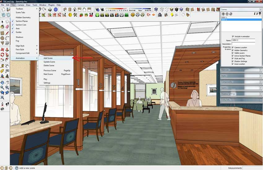 Sketchup And Photoshop Ideas For Next Annual Report Save Scene